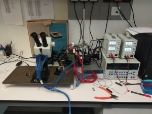 Transistor Characterization SetUp 64 Channels